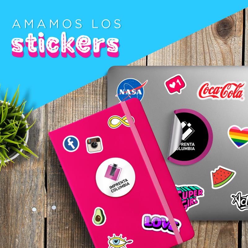 Stickers con onda